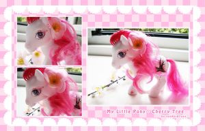 My little pony custom Cherry T by xxxKei87xxx