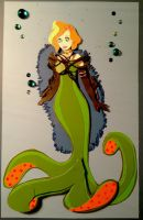'Paperdolls' Disney Villianess in paper by Eotena