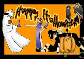 Naruto Halloween by Surfinpika