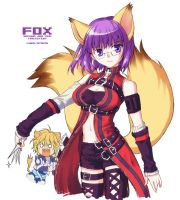 Second job---FOX by L-A-B-O