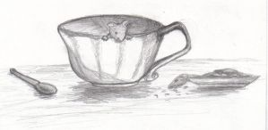 Mouse in a Teacup by Toby-Chan