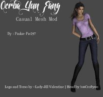 Oerba Yun Fang (Casual Mesh Mod) [DL] by Pinkie-Pie297