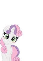Sweetie Belle (Vector version) by Constellite