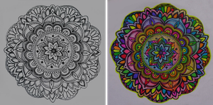 mandala sticker by flowwwer