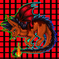 Flamey pixel animation by Tearraven