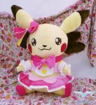Pikachu Cosplay Plushie by dolphinwing