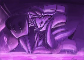 SSXMegatron: missed me? by theREDspy
