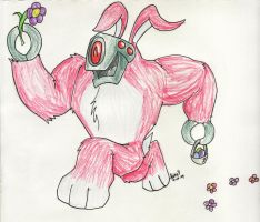 Easter Lugnut by katiewhy