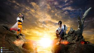 Naruto VS Sasuke Cosplay by Guy Pomnongsan by atmp