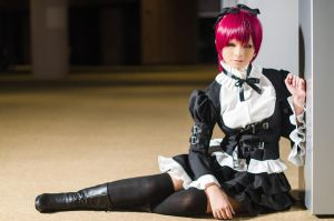 Fairy Tail - Erza Scarlet (Lolita Ver.) 2 by AngelMiraku