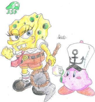 Spongebob, SSBB-moves by CyberMaroon