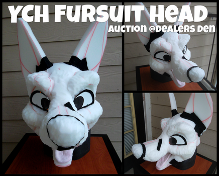 YCH Fursuit Head: FOR SALE by Chibemo