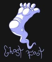 Ghost Foot by MatthewJWills