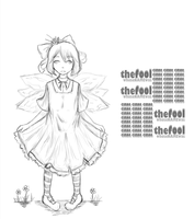 The Fool Whose Name was Cirno by atoms2ashes