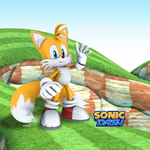 Tails in sonic dash by knockoutandsonic