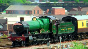 GWR 4965 'Rood Ashton Hall' at Birmingham by The-Transport-Guild