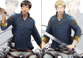 Shingeki no Husbands by Reiner-X-Atashi