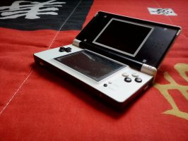 Custom White and Black DS Lite - Front by Diego9000