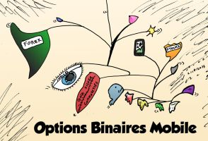 options binaires mobile caricature by optionsclickblogart