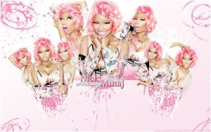 Nicki Minaj Wallpaper 01 by DesignsByTopher
