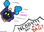 Pokemon - 'Nebby, Get In The Bag!!' by KCastell2H