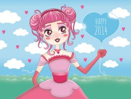 Happy 2014! by AdrianeSM