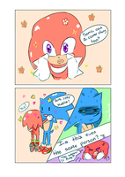 Tiny Knuckles GO! by deooART