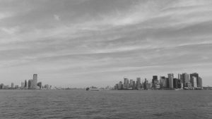 NYC Harbor: Black+White by sympatheic-darkness