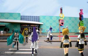 Vocaloid Disney Vacation: Pop Century by TheKohakuDragon