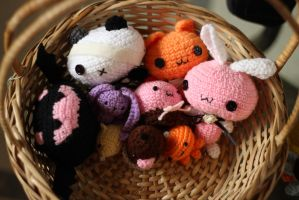 Basket of Cuteness by Papina