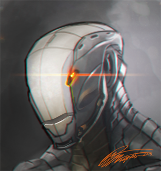Speed Paint - Suit Concept#1 by nightmare1928555
