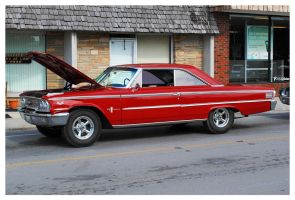 Red Ford Galaxie 500 by TheMan268