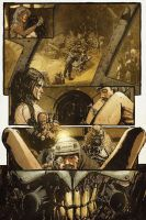 Mad Max: Fury Road - Furiosa #1 Page 3 by T-RexJones