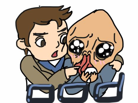 Doctor who,the ood and the doctor,iPad draw,use fi by ctq626