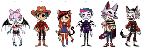Mixed Adopts (Points/Paypal) 1 OPEN by KuAdopts