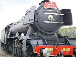 Flying Scotsman by scifiguy9000
