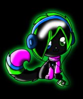 When Lumi listens to music.... by Dracosia