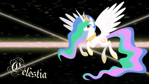 Celestia wallpaper by Elsdrake