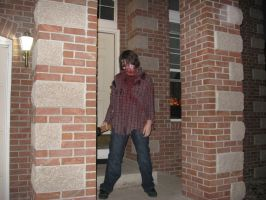 My Zombie Stance by THE-R4GE