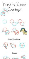 How to Draw Cyndaquil by PikaAly