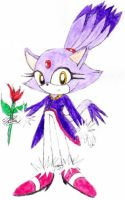 Blaze with Flower by VivianTiger24