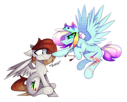 [Contest Entry] A Boop From Above by PonyBytes
