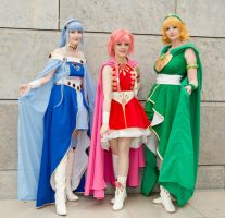 Magic Knight Rayearth by Shizuku-Seijaku