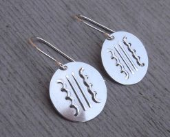 Transformer Sterling Earrings by nicholasandfelice