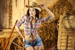 Sexy Cowgirl by grixpix