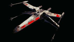 Star Wars X Wing Fighter Paint By Number Art Kit by numberedart