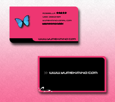 :: Business Card :: by YumeKimino