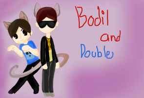 Bodil and Double by EndytheEnderman