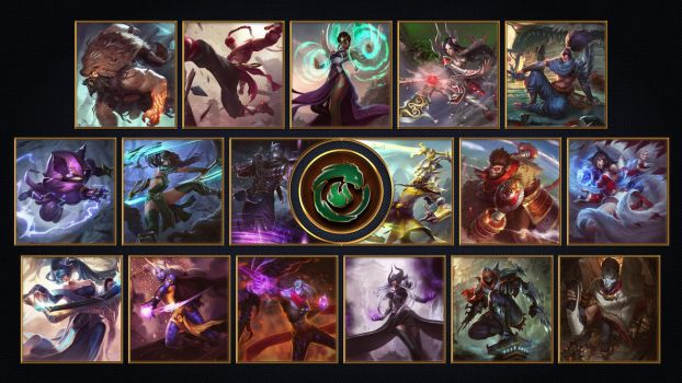 [League of Legends] Ionia Wallpaper by TheLadyClockWork