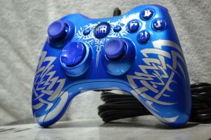 X Box 360 Custom Controller FBS21 by b-grafix